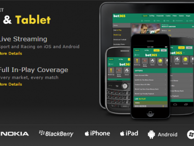 Bet365 on the move: sports, casino and poker